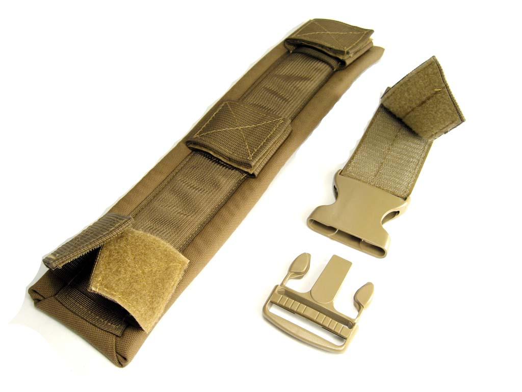 ec58538e480c Zulu Nylon Gear EMISSARY Messenger Bag Shoulder Strap Pad and Quick ...